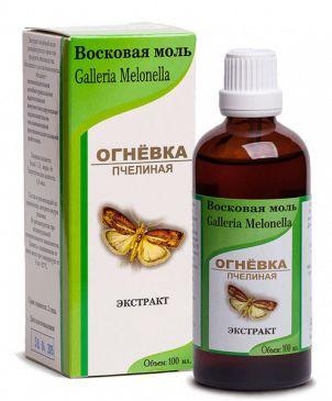 Экстракт из личинок восковой моли спиртовой 40%