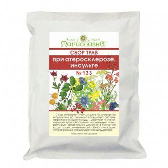 Сбор лекарственных трав для лечения атеросклероза