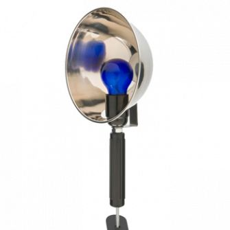 Синяя лампа (рефлетор Минина)