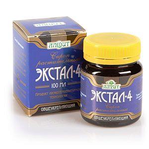 Сироп Экстал-4 общеукрепляющий